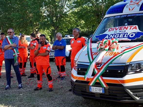 Read more about the article Inaugurazione della nuova ambulanza
