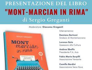 """Read more about the article Presentazione del libro """"MONT-marcian in rima"""""""